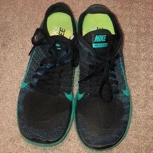 Nike Free 4.0 - Black & teal